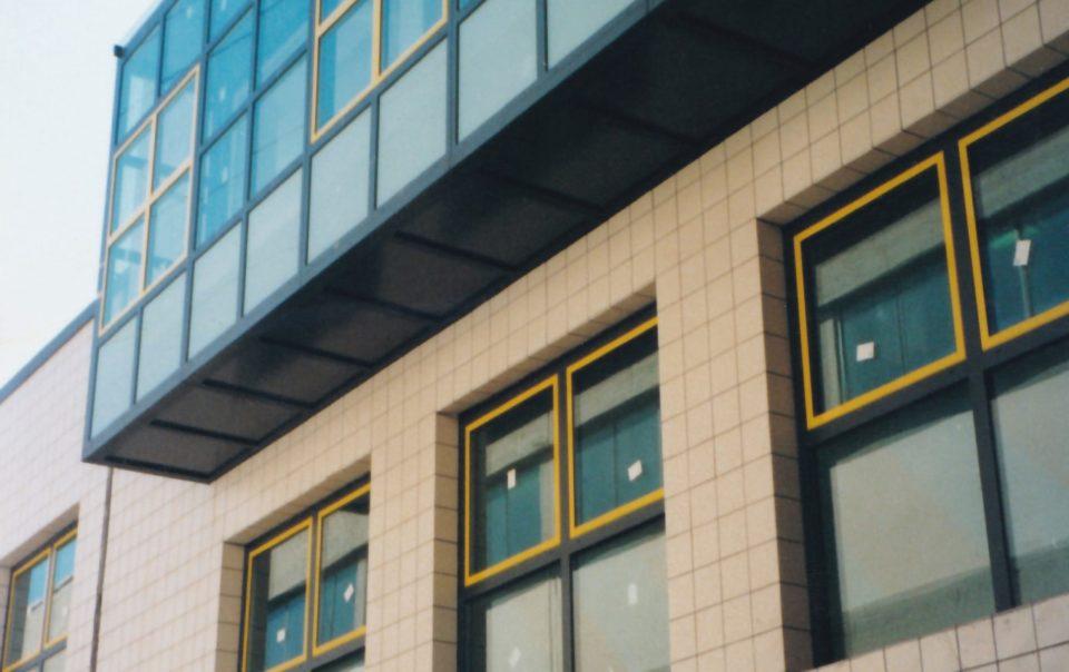 Progettazione di nuovo edificio per uffici e magazzino a Calenzano.