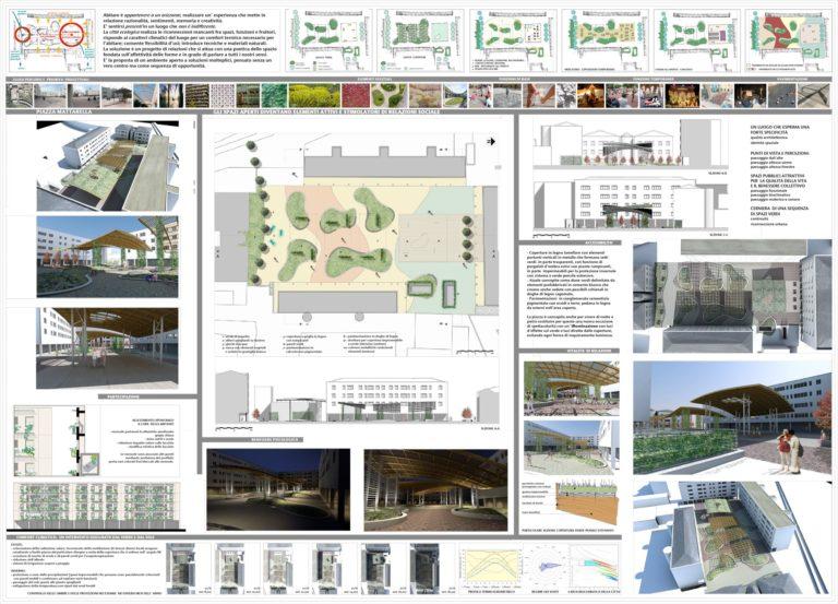 Progetto di riqualificazione architettonica ed ambientale per Piazza Mattarella a Parma