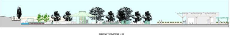 Tavola sistema del verde. Progetto di riqualificazione urbana, Rapolano Terme