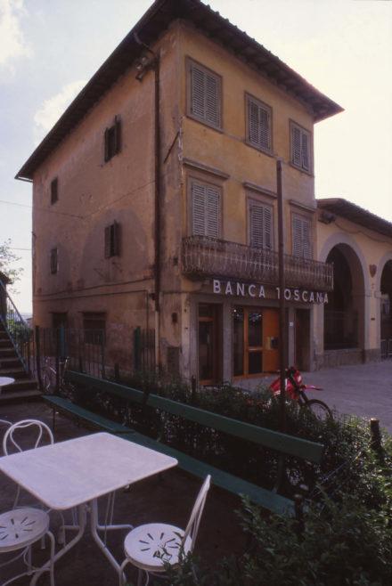 Stato iniziale. Progettazione per ampliamento e ristrutturazione Banca Toscana Impruneta