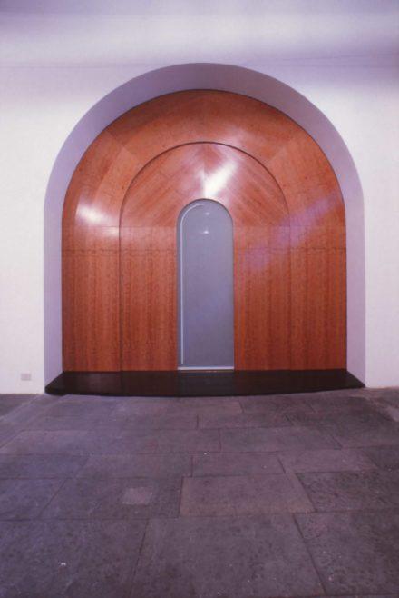 Fronte. Design d'interni per sala multimediale Fattoria di Celle, Santomato