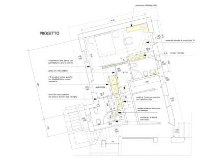 La torretta. Ristrutturazione di villa a Roccamare (GR)