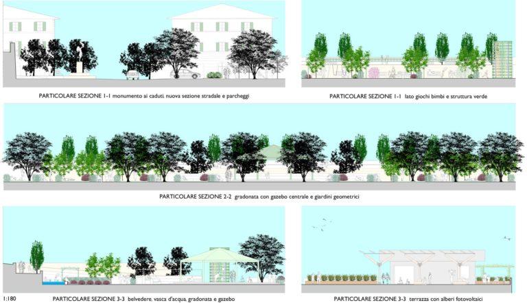 Progetto di riqualificazione urbana, Rapolano Terme