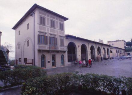 Progettazione per ampliamento e ristrutturazione Banca Toscana Impruneta