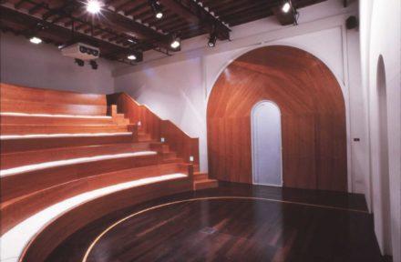 Saletta. Design d'interni per sala multimediale Fattoria di Celle, Santomato