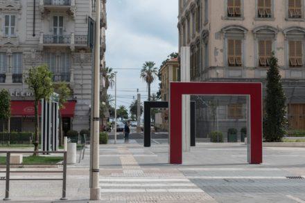 Concorso internazionale per la sistemazione di Piazza Verdi a La Spezia con l'artista Daniel Buren. Vannetti architetti
