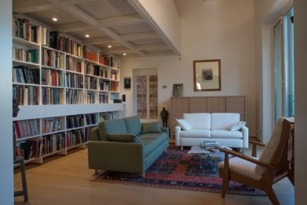 Living. Ristrutturazione di appartamento civile abitazione a Firenze
