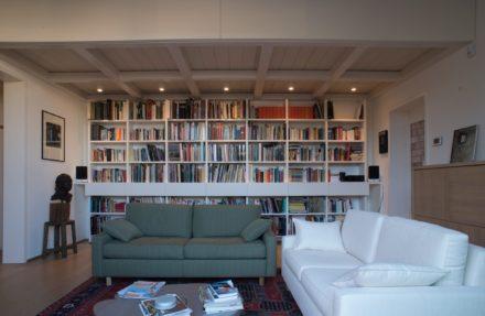 Dettaglio living. Ristrutturazione di appartamento civile abitazione a Firenze