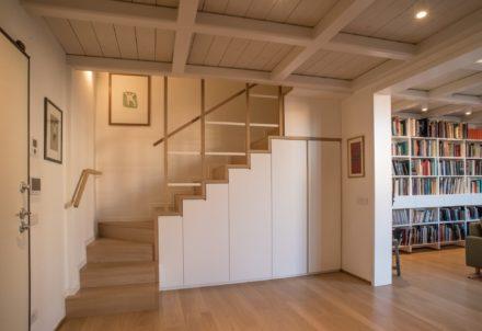 Scala. Ristrutturazione di appartamento civile abitazione a Firenze