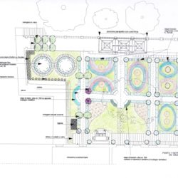Soluzione 3 per giardino all'italiana